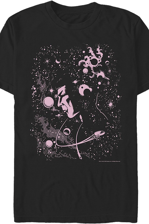 Galaxy Spock Star Trek T-Shirt