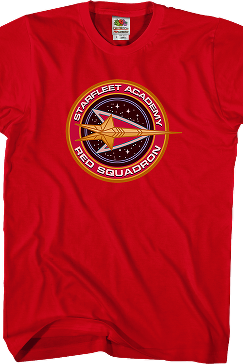 Starfleet Academy Red Squadron Star Trek T-Shirt