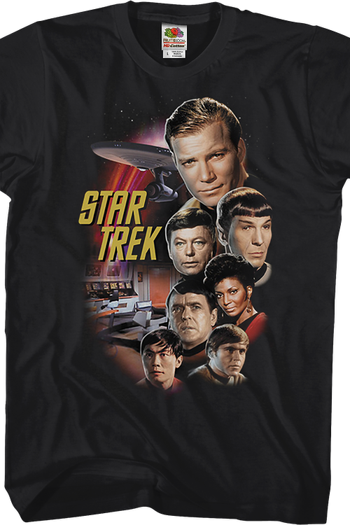 Original Series Cast Star Trek T-Shirt
