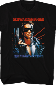 Movie Poster Terminator Shirt