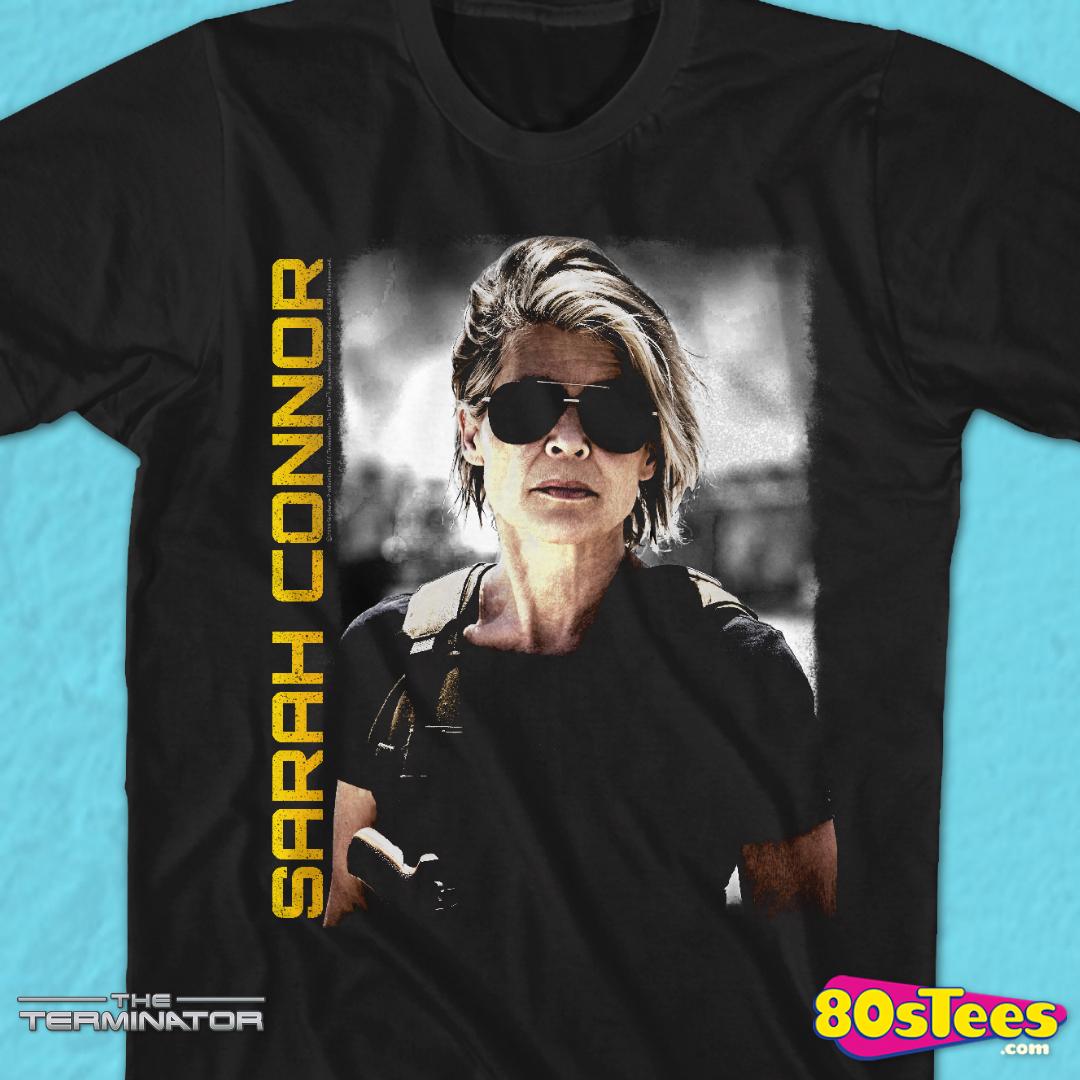 Terminator Sarah Connor T-shirt femme