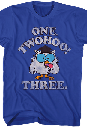 One Two Three Tootsie Pop T-Shirt