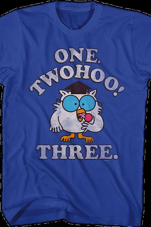 3c43764b One Two Three Tootsie Pop T-Shirt. Men's T-Shirt.