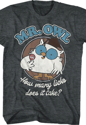 Mr. Owl Tootsie Pop T-Shirt