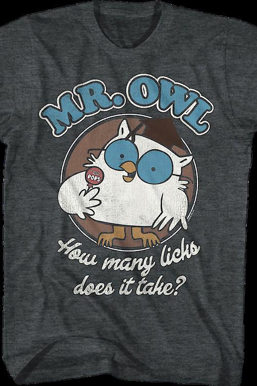 2dc38acd Mr. Owl Tootsie Pop T-Shirt Men's