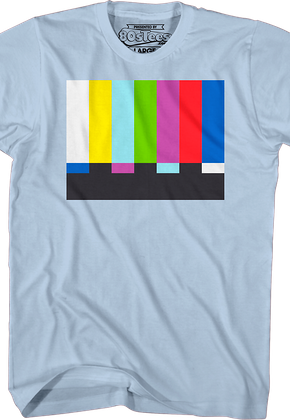 Sheldons Test Pattern Shirt