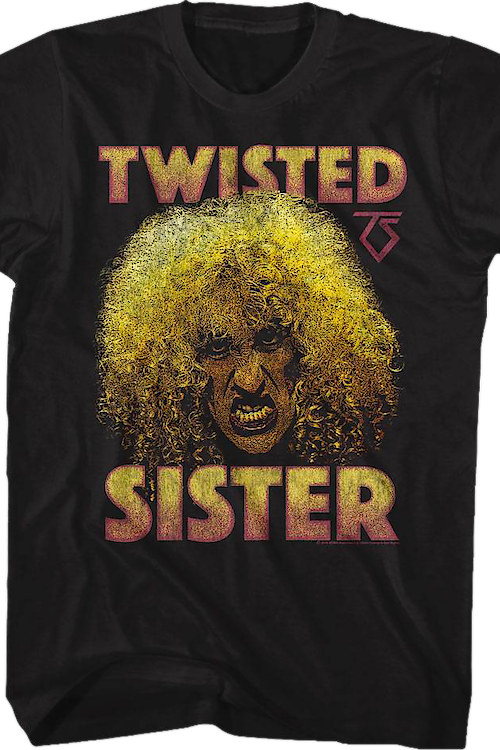 Distressed Dee Snider Twisted Sister T-Shirt