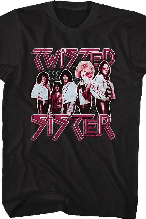 Group Photo Twisted Sister T-Shirt