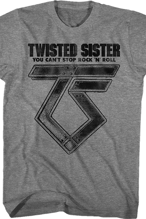 Can't Stop Rock 'N' Roll Twisted Sister T-Shirt