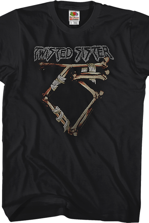 Bandaged Logo Twisted Sister T-Shirt
