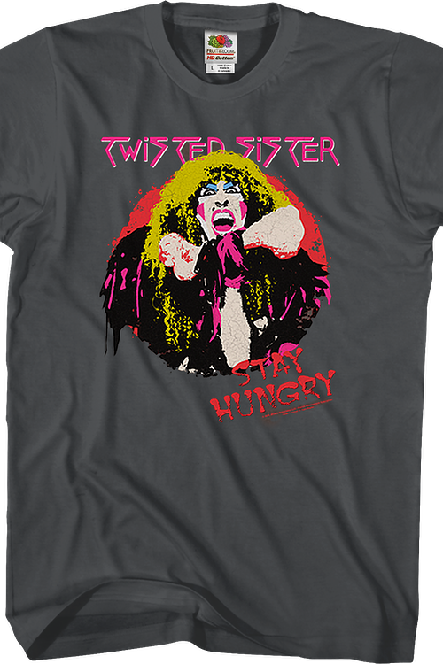Twisted Sister Stay Hungry Shirt