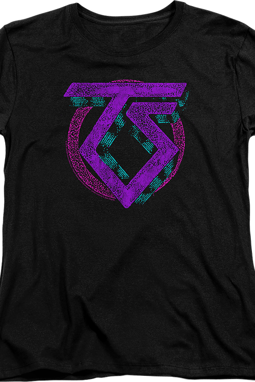 Womens Neon Logo Twisted Sister Shirt