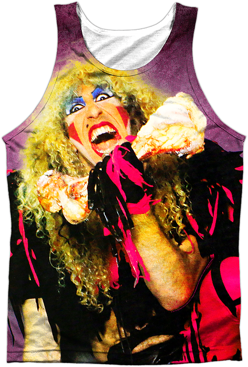 Stay Hungry Twisted Sister Tank Top