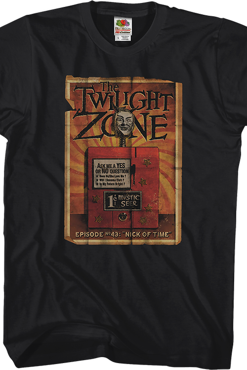 Nick of Time Twilight Zone T-Shirt