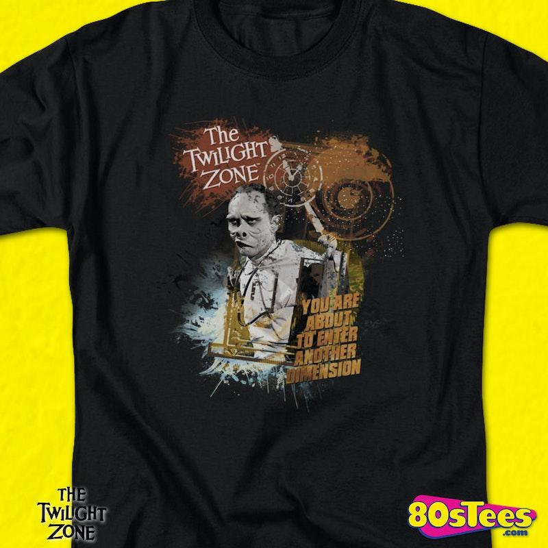 Eye Of The Beholder Twilight Zone T Shirt