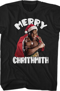 Merry Chrithmith Mike Tyson Shirt