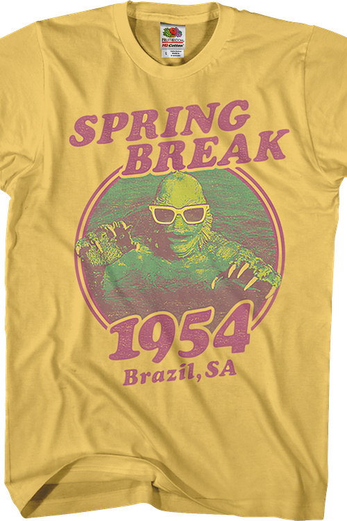 Spring Break 1954 Creature From The Black Lagoon T-Shirt