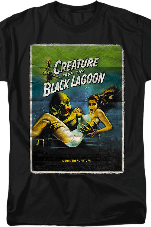 Movie Poster Creature From The Black Lagoon T-Shirt