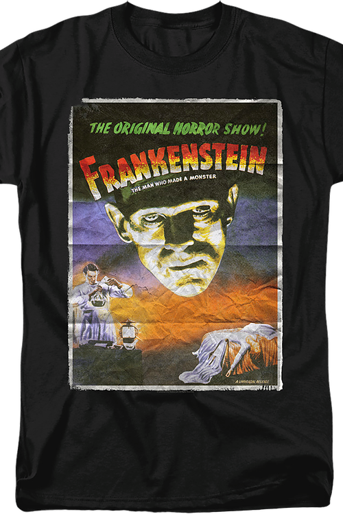 Movie Poster Frankenstein T-Shirt