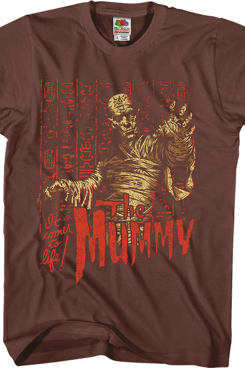 It Comes To Life The Mummy T-Shirt