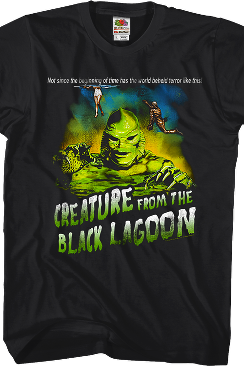 Tagline Creature From The Black Lagoon T-Shirt