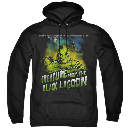 Tagline Creature From The Black Lagoon Hoodie