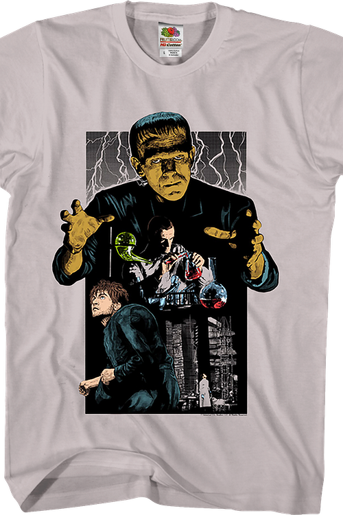 Collage Frankenstein T-Shirt