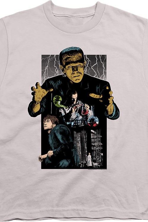 Youth Collage Frankenstein Shirt