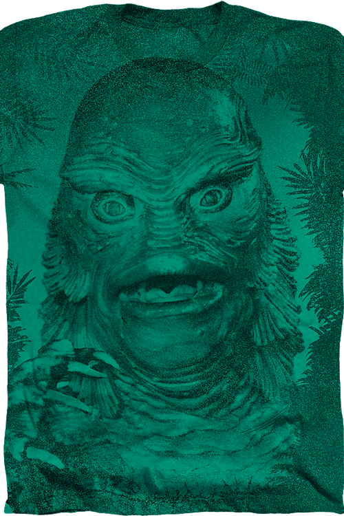 Big Print Creature From The Black Lagoon T-Shirt