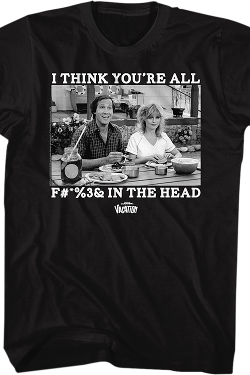 In The Head National Lampoon's Vacation T-Shirt