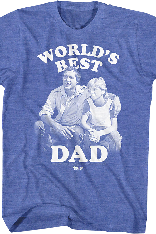 World's Best Dad National Lampoon's Vacation T-Shirt