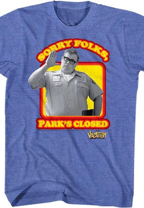 Park's Closed National Lampoon's Vacation T-Shirt