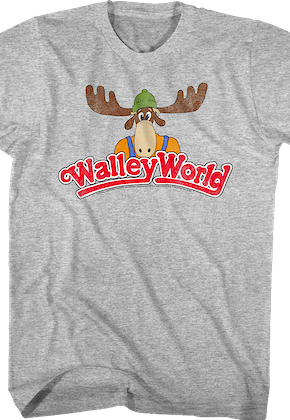 Distressed Walley World Logo National Lampoon's Vacation T-Shirt