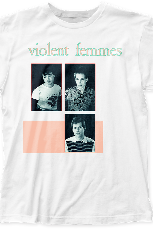 Band Members Violent Femmes T-Shirt