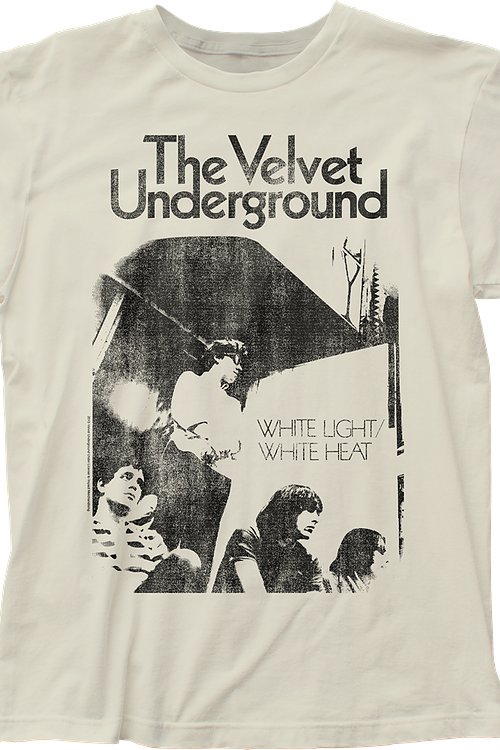 White Light White Heat Velvet Underground T-Shirt