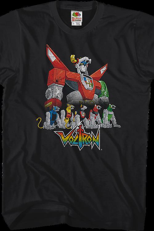 3bacab9cc Voltron Lions Shirt: 80s Cartoons Voltron T-shirt