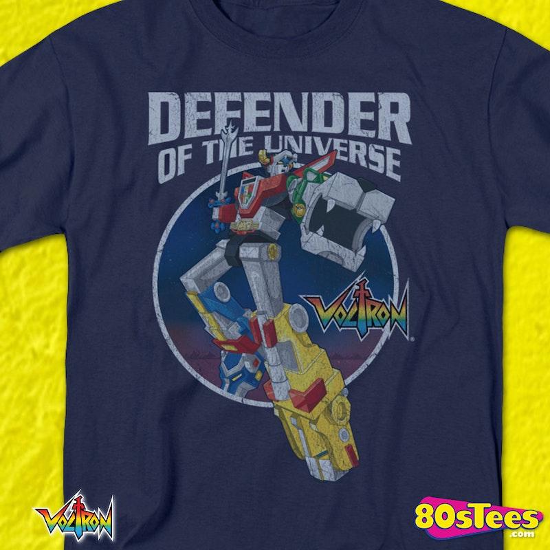 79f54219c Defender of the Universe Voltron Shirt: Voltron Mens T-shirt