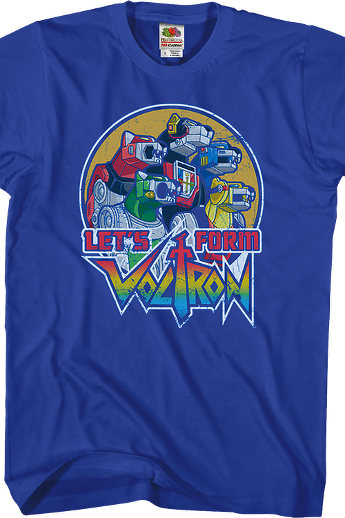 Let's Form Voltron T-Shirt