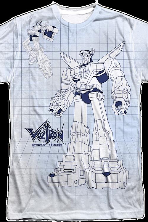 6f0ab2e3e Blueprint Voltron T-Shirt. Men's T-Shirt