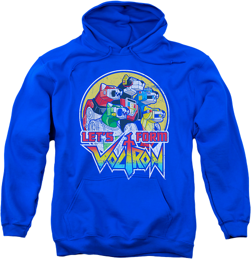 Let's Form Voltron Hoodie