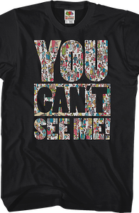 You Can't See Me Where's Waldo T-Shirt
