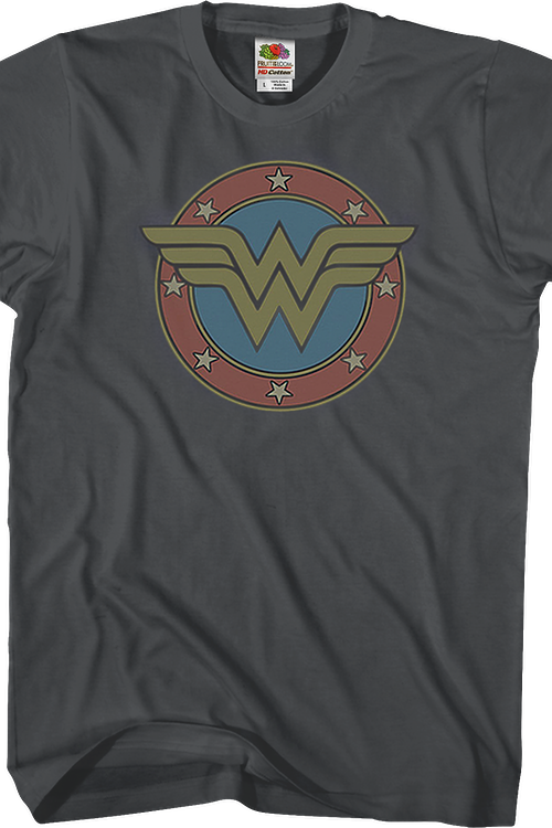 79ac84a5b8b Classic Wonder Woman Logo T-Shirt  Wonder Woman Mens T-Shirt
