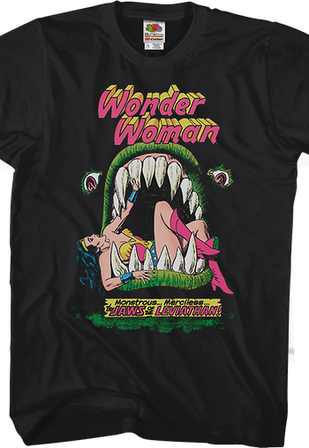 Jaws Of The Leviathan Wonder Woman T-Shirt
