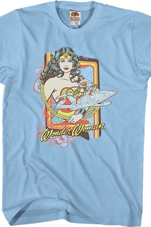 Invisible Jet Wonder Woman T-Shirt