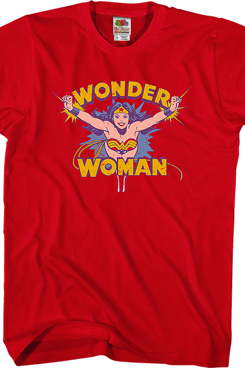Flying Wonder Woman DC Comics T-Shirt
