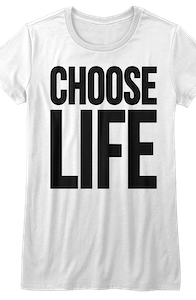 Ladies Choose Life Shirt