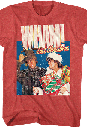 George Michael Last Christmas WHAM! T-Shirt