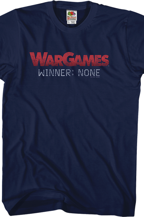 Winner None WarGames T-Shirt
