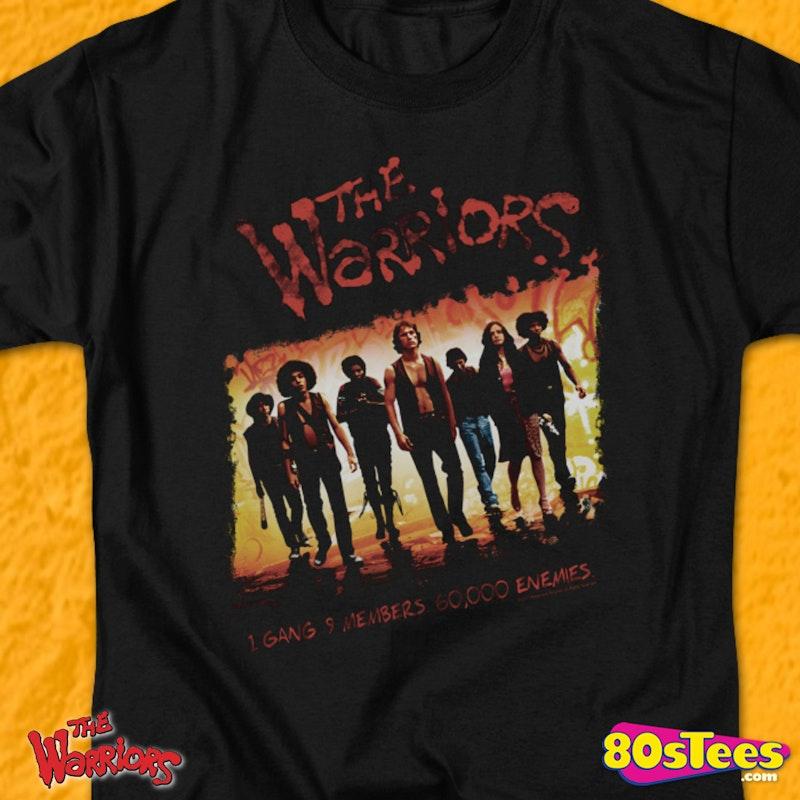 Warriors Movie Clips: The Warriors Gang Shirt: 80s Movies The Warriors T-shirt