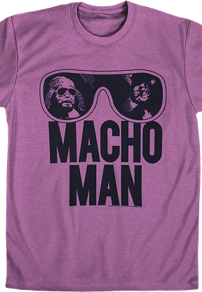 85e5cac30f5ef Randy Savage Macho Man Shirts -Officially Licensed- Free Shipping